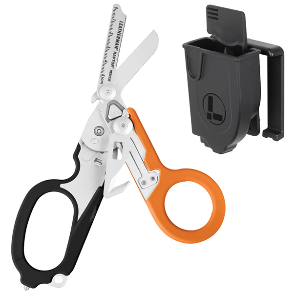 Leatherman Raptor Shear, Utility Sheath, Orange-Black