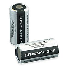 Streamlight 3V Lithium Battery Pack of 2, CR123A