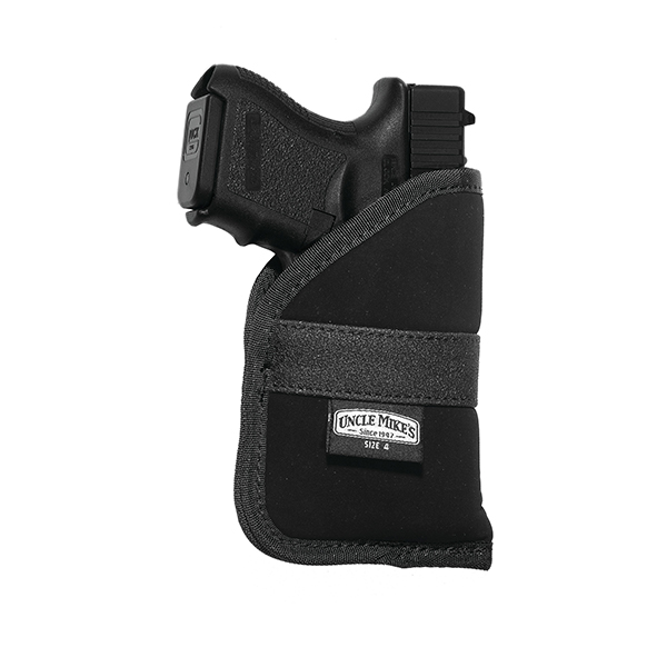 Uncle Mikes Holster,Inside The Pocket Sz: 1