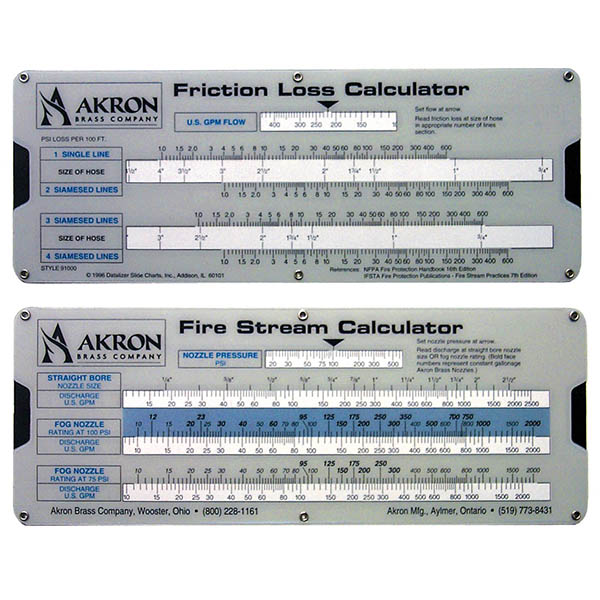 Akron Friction Loss Calculator