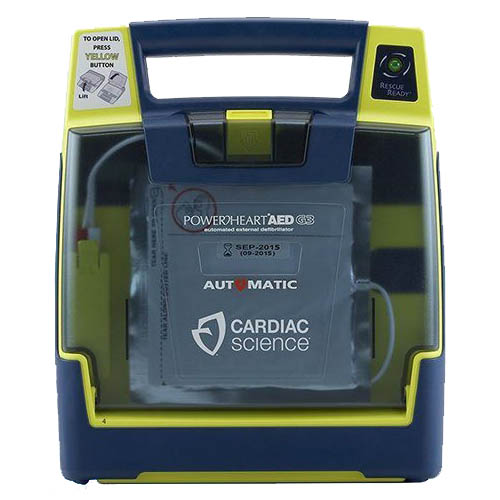 Cardiac Science Powerheart G3 Plus AED, Fully Automatic, Pkg