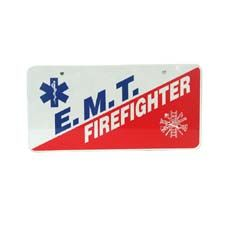 "Pacific Reflex Tag, ""EMT/Firefighter"""