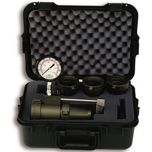 Akron Test Kit, Low Flow Includes Case