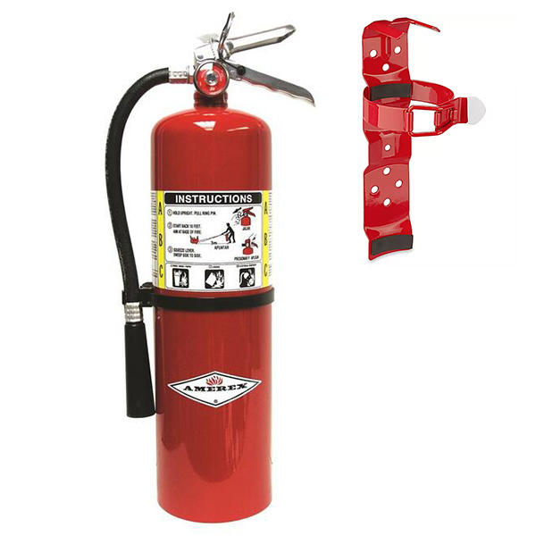 Amerex Extinguisher, Halotron 2.5 lb w/ Vehicle Bracket 817