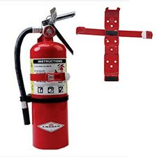 Amerex Extinguisher, ABC 5# w/ Vehicle Bracket