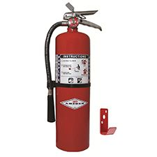 Amerex Extinguisher, 10lb Purple K Fire w/ Brass Valve
