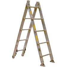 Alco-Lite Ladder, Combination, 14'
