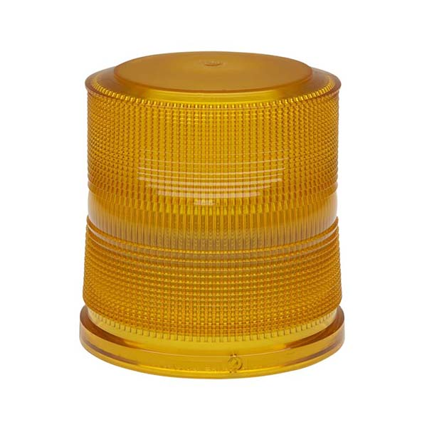 Whelen 2000 Amber High Dome Lens Only
