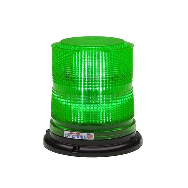 Whelen 2000 Green High Dome Lens Only