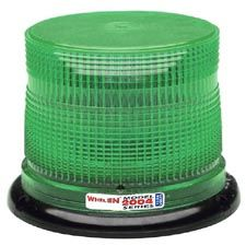 Whelen 2000 Green Low Dome Lens Only