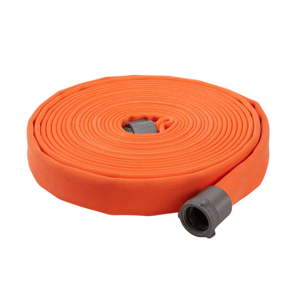 "Key Fire Hose, 1.5"" x 50' Orange, ECO, 800 PSI, 1.5""NH"