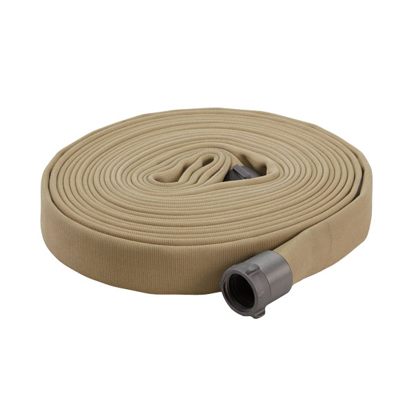 "Key Fire Hose, 1.75"" x 50' Tan, DJ, ECO, 800 PSI, 1.5""NH"