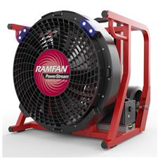 "Euramco 18"" PPV Fan, AC/DC 52VDC, All Terrain, No Battery"