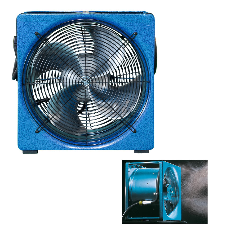 "Super Vac 16"" Mister Fan Confined Space"