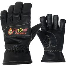 Firecraft Glove, Cadet Phoenix Leather, NFPA, Gauntlet