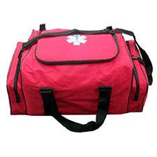 Advanced EMS Medical Bag, Medium, Red