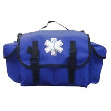 Quick Response EMS Medical Bag, Small, Blue