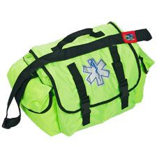 Quick Response EMS Medical Bag, Small, Lime