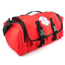 Quick Response EMS Medical Bag, Small, Red