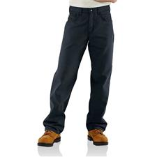 Carhartt Canvas Jeans, FR Navy Loose Fit Midweight