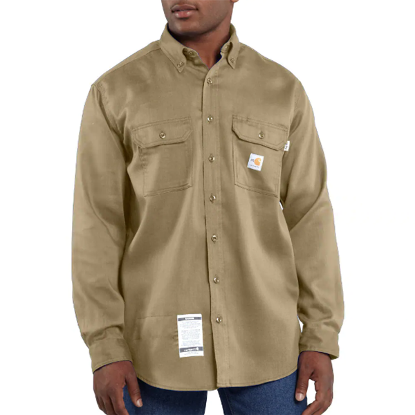 Carhartt Twill Shirt, FR w/ Pocket