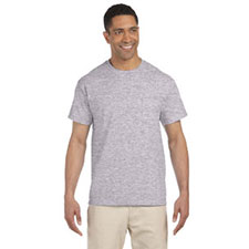 Gildan T-Shirt, SS, Pocket Sport Grey