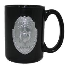 Great American Products Mug, Black Police