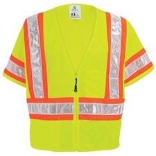 FrogWear ANSI Class 3 High-Vis Mesh Vest with LED Lights
