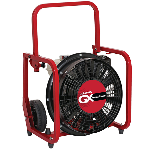 "Ramfan Fan, Honda, 18"" 5.5 HP, Gas"
