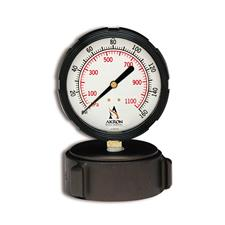 "Akron Cap Gauge, 4.5"" Bleeder, 0-160 PSI"