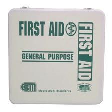 Certified Safety First Aid Kit 24M General Purpose ANSI