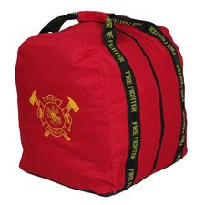 Gear Bag, Stand-Up, Red Maltese Cross, 16x17x21