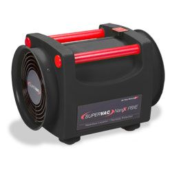 "Super Vac 8""Confined Space Fan w/ 25' Hazard Vent Duct"