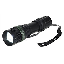 Portwest Tactical Flashlight Black, 3-AAA