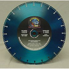 "Team Equip PIRAYA Diamond Cut Rescue Saw Blade, 12"" x 1"""