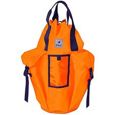 PMI Rope Pack, Large/Deluxe w/ Pockets & Straps, Orange