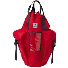 PMI Rope Pack, Large/Deluxe w/ Pockets & Straps, Red