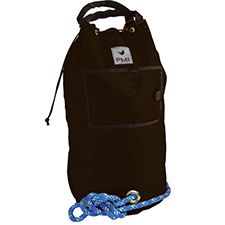 PMI Rope Bag, Standard Holds 120m 10mm Rope, Black