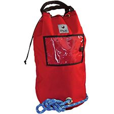PMI Rope Bag, Standard Holds 120m 10mm Rope, Red
