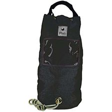 PMI Rope Bag, Large Holds 160m 10mm Rope, Black