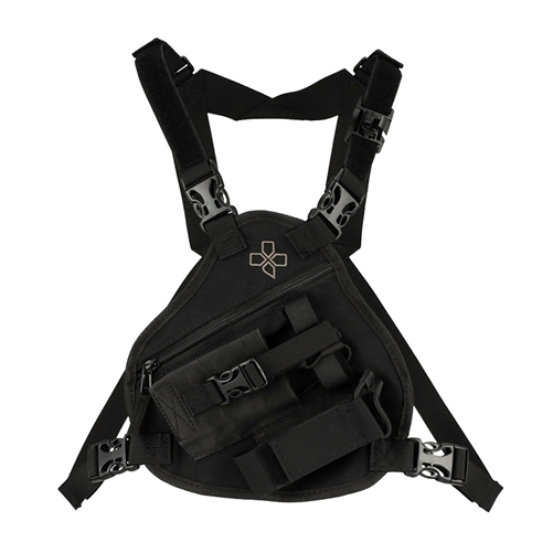 Coaxsher Radio Chest Harness, RCP1-Scout Black
