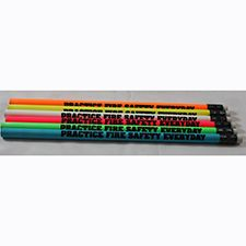 "Fire Safety Pencil, Dog ""Practice Fire Safety Everyday"
