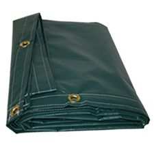 "Zico 10 oz. 12'x18"" Green Tarp"