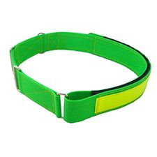 "Hose Wrapper, Reflective Tape 18""-32"" Flourescent Green"