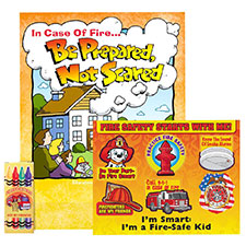 "Fire Safety Kit, Grades 2-3 ""Be Prepared, Not Scared"""