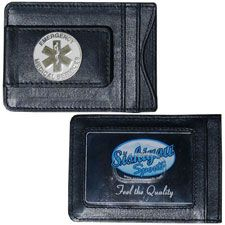 Money Clp/Card Holder w/EMS Star of Life