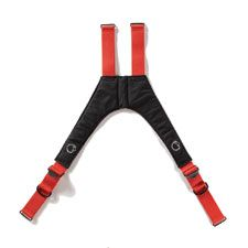 "LION Suspender, V-Force Non-High Back, Red, 42"" (R)"