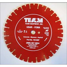 "Team Blade USAR/FEMA 14""X1"" Diamond Saw Blade"