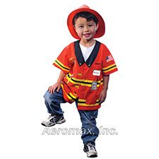 "Aeromax ""My 1st Career Gear"" Firefighter, Ages 3-5"