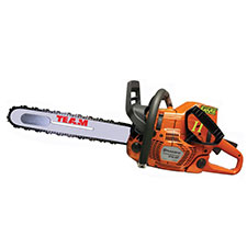 "Team Shark II 20"" Chainsaw Husqvarna, Carbide Chain w/DA"